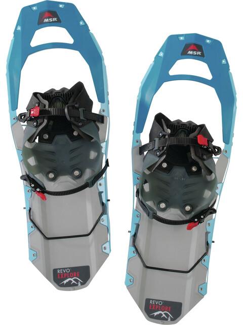 MSR Revo Explore 22 Snowshoes Women Aquamarine